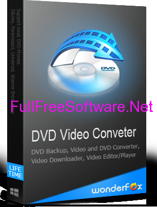Free Download WonderFox DVD Video Converter (Giveaway)