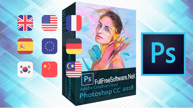 Download Free Adobe Photoshop CC 2018 Language Pack