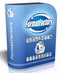 Any video converter Format Factory