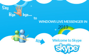 Say Goodbye to Windows Live Messenger in 2013